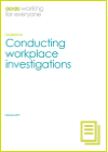 Acas guide to conducting workplace investigations