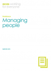 Managing people guide cover
